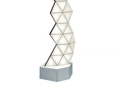 Lampadaires - Lampadaire modulaire contemporain Tri-Light TRI23F - TOKIO FURNITURE&LIGHTING