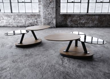 Tables basses - Space M253B coffee table with movable table tops - MY MODERN HOME