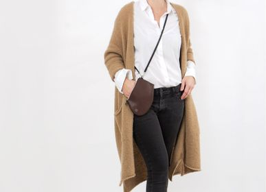 Cadeaux - Pochette Zip Medium Tan - MLS-MARIELAURENCESTEVIGNY