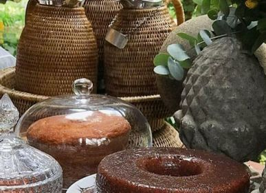 Carafes - Carafe en rotin - ISHELA EUROPA LDA