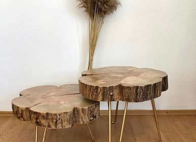Coffee tables - Solid Wood Coffee Table, Pear - MASIV_WOOD