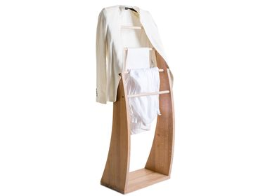 Wardrobe - Solid beech wood Clothes Valet - Plutoo - 3S DESIGN