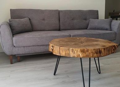 Coffee tables - Solid Wood Coffee Table, Fir - MASIV_WOOD