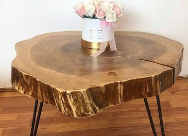 Tables basses - Table basse en bois massif, sapin - MASIV_WOOD