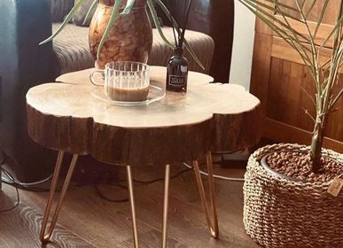 Tables basses - Table basse en bois massif, poire - MASIV_WOOD