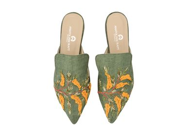 Homewear - Mimosian Paradise Slipper Shoes  - AC ANATOLIANCRAFT
