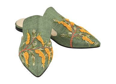 Shoes - Mimosian Paradise Slipper Shoes  - AC ANATOLIANCRAFT