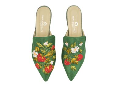 Sleapwear - Sweet Strawberry Slipper Shoes - AC ANATOLIANCRAFT