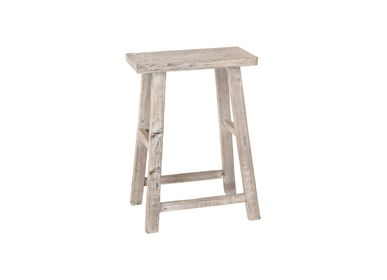 Tabourets - PURE HIGH SQUARE STOOL RAW - SNOWDROPS COPENHAGEN