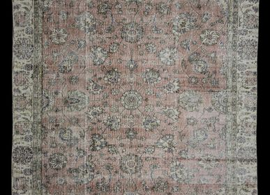 Contemporary carpets - HANDMADE TURKISH RUG - OLDNEWRUG