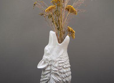 Vases - Wolf vase in ceramic Pedro - CHEHOMA