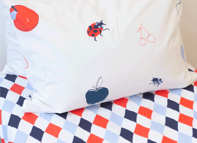 """kids linen - Fitted Sheet """"Dynamic Diamond"""" - KATHA COVERS"""