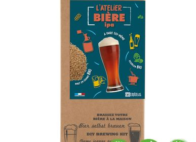 Gift - Coffret Brassage tout grain malt bio 4L bière IPA Bio - RADIS ET CAPUCINE
