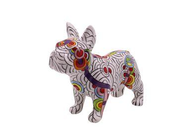 Céramique - Tirelire Bulldog Français - Circles of Life  - POMME-PIDOU