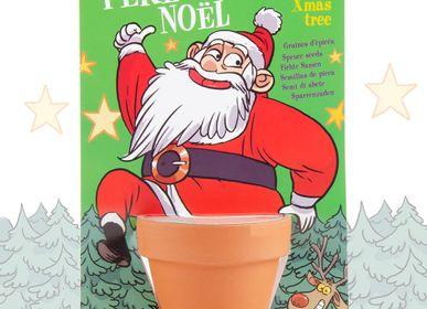 Gifts - Santa Claus Planting Kit - Spruce - RADIS ET CAPUCINE
