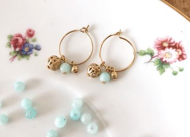 Jewelry - Mini Donna Hoop Earrings - JOUR DE MISTRAL