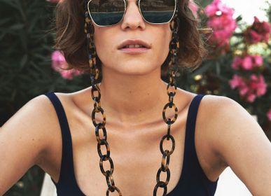 Glasses - Chunky | Bio-Acetate Dark Tortoiseshell | Glasses Chain - ORRIS LONDON
