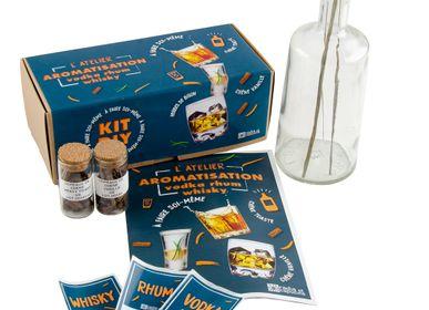 Épicerie fine - Kir pour fabriquer et aromatiser Whisky, Vodka bison et Rhum - RADIS ET CAPUCINE