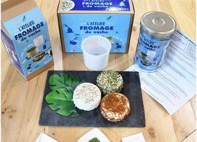 Épicerie fine - Kit pour fabriquer son fromage de vache Bio à la maison - RADIS ET CAPUCINE