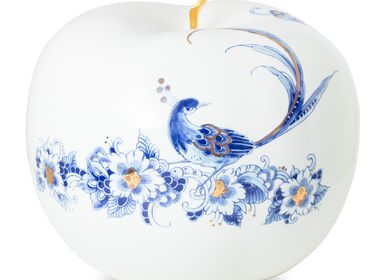 Objets design - ROYAL DOTS FLEUR ø 29 CM - ROYAL BLUE COLLECTION®