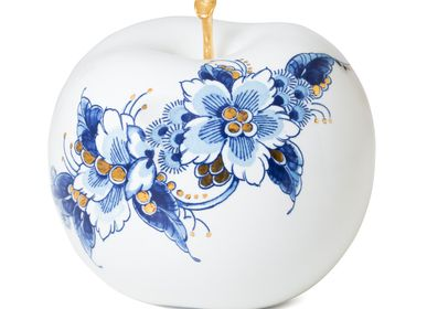 Design objects - ROYAL DOTS FLEUR ø 12 CM - ROYAL BLUE COLLECTION®