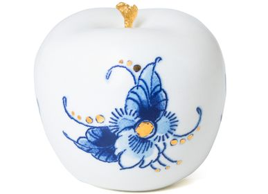 Objets design - ROYAL DOTS FLEUR ø 6 CM - ROYAL BLUE COLLECTION®