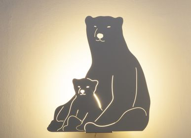 Other wall decoration - THE POLAR BEAR LAMP  - GOODNIGHT LIGHT