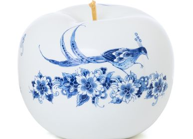 Design objects - TOUCH OF GOLD FLEUR ø 29 CM  - ROYAL BLUE COLLECTION®