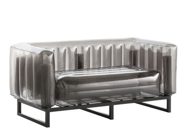 Sofas for hospitalities & contracts - YOMI EKO CANAPE black - MOJOW