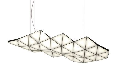 Plafonniers - Suspension modulaire contemporaine Tri-Light TRI46 - TOKIO FURNITURE&LIGHTING