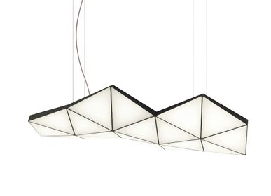 Plafonniers - Suspension modulaire contemporaine Tri-Light TRI18 - TOKIO FURNITURE&LIGHTING