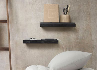 Wall decoration - Tabula Shelves CC3 45 cm - Black - CHICURA COPENHAGEN