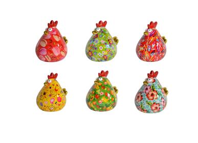 Céramique - Tirelire Poule Matilda - POMME-PIDOU