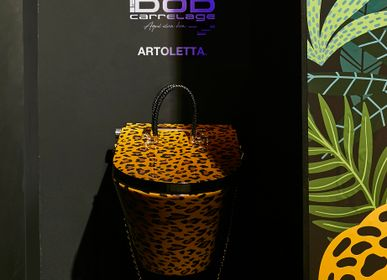 Decorative objects - Leopard toilets Axent one edition - ARTOLETTA.EU 2021-2022