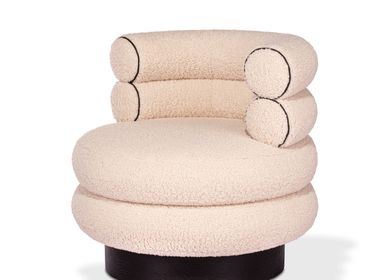 Armchairs - JASMINE SWIVEL ARMCHAIR - ROYAL STRANGER