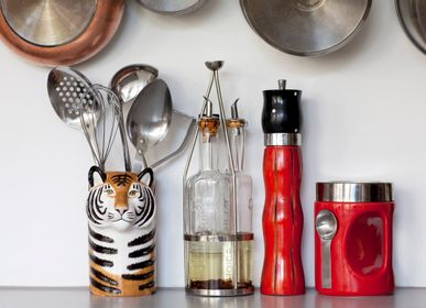 Kitchen utensils - Animal Utensil Pots - QUAIL DESIGNS