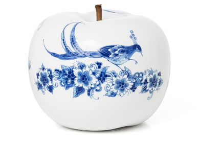 Design objects - NATURE FLEUR decorative item ø 29 CM - ROYAL BLUE COLLECTION®