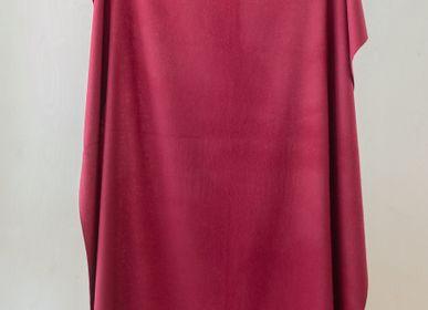 Throw blankets - Lambswool Blanket in Berry Burgundy - THE TARTAN BLANKET CO.