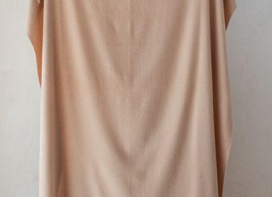 Throw blankets - Lambswool Blanket in Camel - THE TARTAN BLANKET CO.