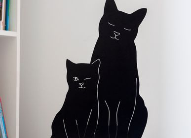 Appliques - The Kitties Lamp (Black) - GOODNIGHT LIGHT