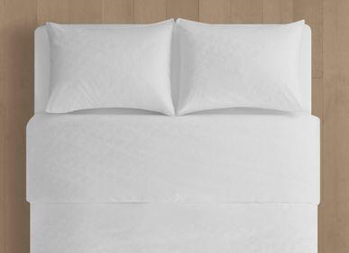 Linge de lit - CK ID white - Parure de lit en satin imprimé - CALVIN KLEIN