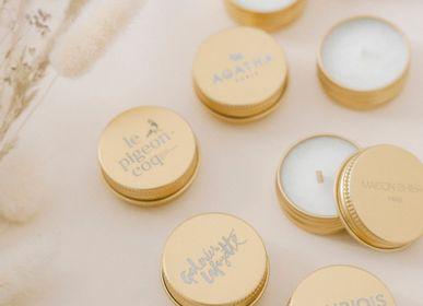 Bougies - Bougie Cadeau Capsule Parfumée avec votre logo - MAISON SHIIBA PARIS