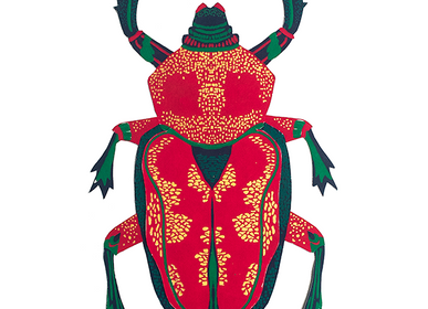 Stationery / Card shop / Writing - Beetle Greeting Card - EAST END PRESS