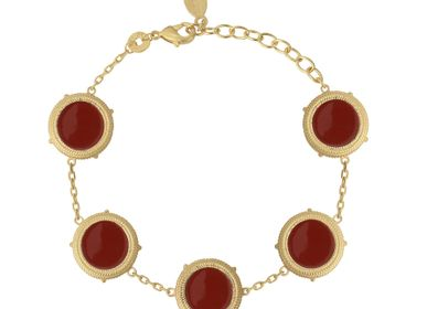 Jewelry - Bracelet VALENTINA Red - COLLECTION CONSTANCE