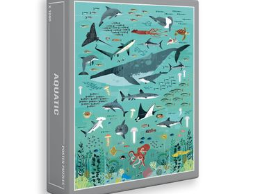 Games - Puzzle 500 pieces - OCEANS - POPPIK