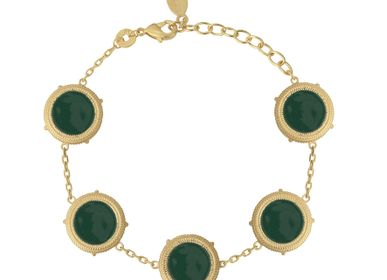Jewelry - Bracelet VALENTINA Green - COLLECTION CONSTANCE