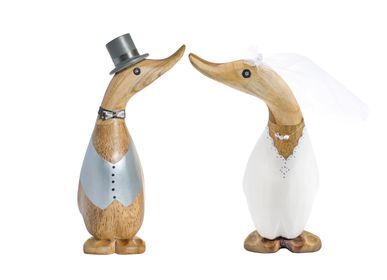 Decorative objects - Bride and Groom Ducklings - DCUK