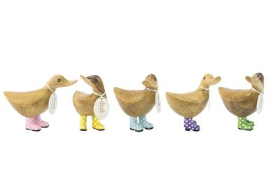 Decorative objects - Duckys with Spotty welly Boots - DCUK