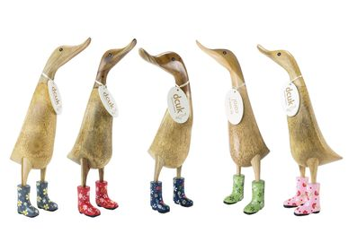 Decorative objects - Ducklets with Floral Welly Boots - DCUK