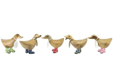 Decorative objects - Duckys with Floral Welly Boots - DCUK